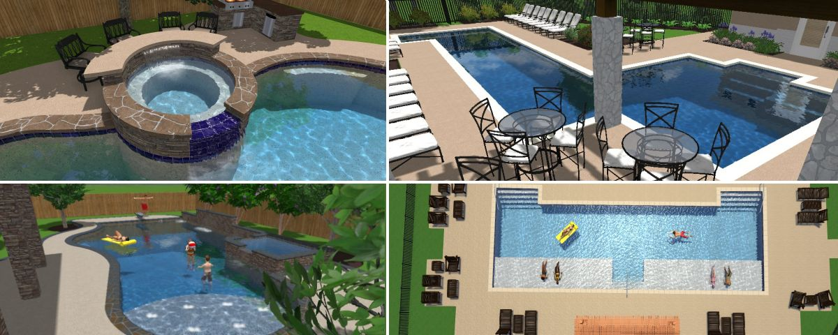 Awesome pool design concepts photos decoration design for Pool design services